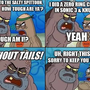 Salty Spittoon Sonic Meme Thingy