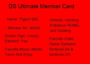 DS Ultimate Forums Member Card | Gaming Latest - PS4, Xbox